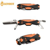 Gerber貝爾求生系列多功能野營開瓶器/螺絲刀/折疊刀 31-002784