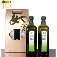 JCI艾欖 西班牙特級冷壓初榨橄欖油禮盒(1000毫升2瓶/盒)