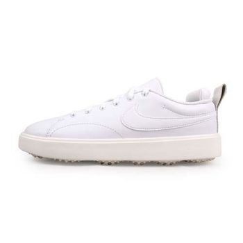 NIKE GOLF COURSE CLASSIC 女高爾夫球鞋-WIDE 白