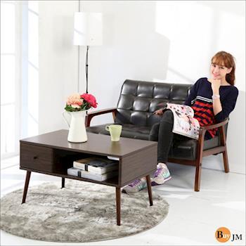 BuyJM 防潑水實木腳電視櫃/茶几桌/邊桌