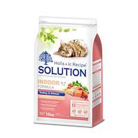 SOLUTION耐吉斯 成貓居家/纖體火雞肉+鮭魚狗飼料1.5公斤 X 1