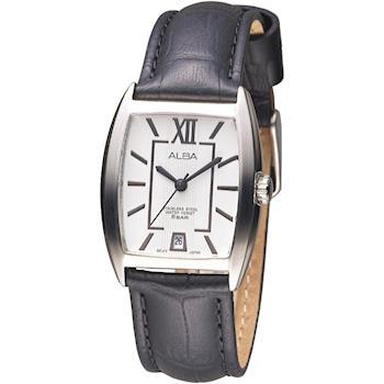 ALBA 波西米亞時尚皮革女錶-白(AG8473X1)