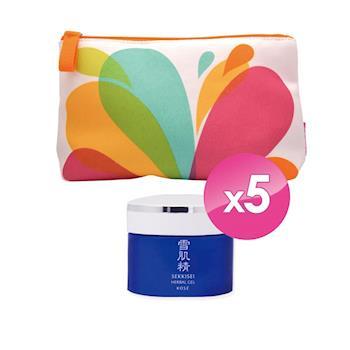 KOSE高絲 雪肌精全能活膚凝露6g買2送3 加碼專櫃化妝包