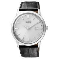 CITIZEN 星辰 Eco-Drive 光動能復刻手錶 銀x黑 40mm BM7190-05A