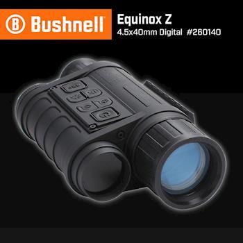 【美國 Bushnell 倍視能】Equinox Z 晝夜系列 4.5x40mm 數位單眼星光夜視鏡 260140 (公司貨)