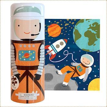 美國Petit Collage - 存錢筒拼圖 - 太空人