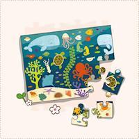 美國Petit Collage - 地板拼圖 - 海底世界