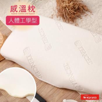R.Q.POLO  My Angel Pillow 涼感感溫枕 (人體工學型) 記憶釋壓 枕芯枕頭 (1入)
