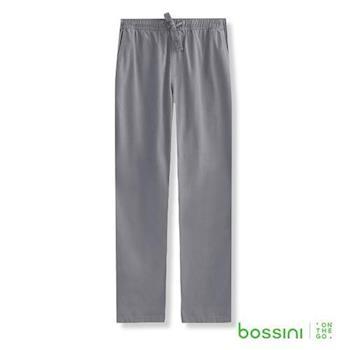 bossini男裝-輕便長褲01鐵灰