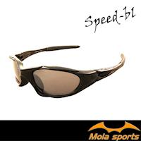 摩拉青少年運動太陽眼鏡 兒童(8-12)黑色 自行車 跑步 棒球 都適用 MOLA SPORTS Speed-bl