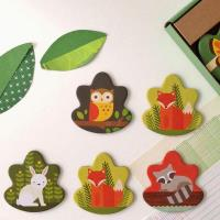 美國Petit Collage - 記憶遊戲 - 森林動物