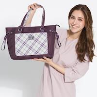 【金安德森】購物包 輕。女伶 百搭經典抽繩-羅蘭紫(KA170001PLF)