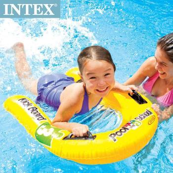 【INTEX】游泳學校POOL SCHOOL-STEP 3 充氣浮排 適用:3歲+ (58167)