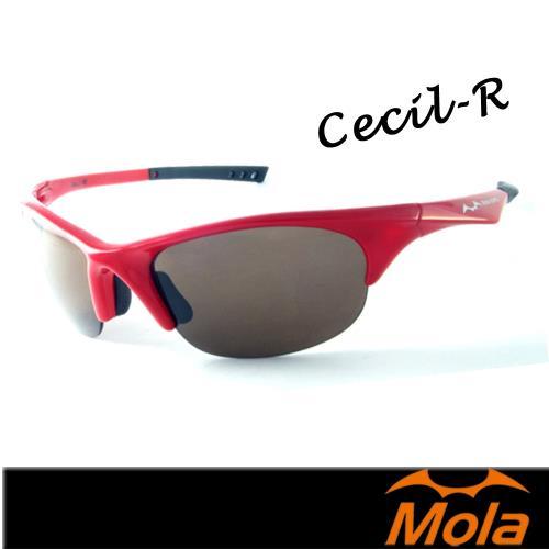 MOLA SPORTS 摩拉時尚運動太陽眼鏡-整組 小到一般臉型 騎車 高爾夫 跑步 棒球Cecil-r