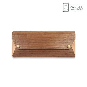 PARSEC 樹革胡桃筆袋