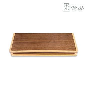 PARSEC 樹革胡桃長夾