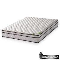 【金鋼床墊】三線20mm乳膠舒柔加強護背型3.0硬式彈簧床墊-雙人特大4尺
