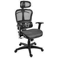 【凱堡】香鯨高彈力透氣網工學電腦椅/辦公椅