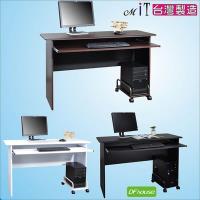 《DFhouse》黑森林電腦桌+主機架-辦公椅 電腦椅 書桌 茶几 傢俱 床 櫃 書架