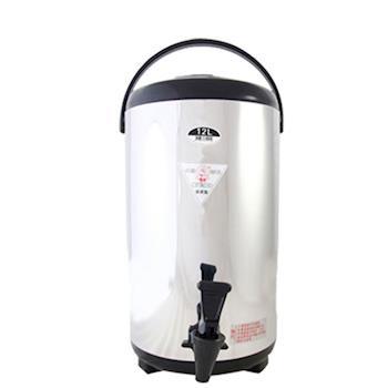 牛88日式休閒不鏽鋼茶桶(12L)