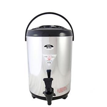 牛88日式休閒不鏽鋼茶桶(10L)