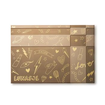 Kanebo佳麗寶 LUNASOL晶巧粉餅盒(WALNUT聯名款)