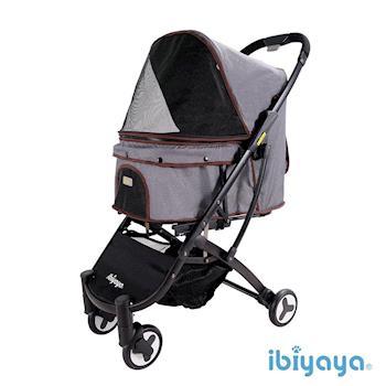 【IBIYAYA依比呀呀】小速攜寵物推車-紳士灰(FS1670)
