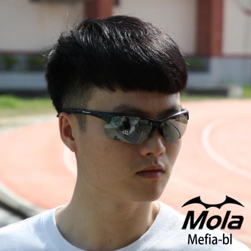 【MOLA SPORTS 摩拉】運動太陽眼鏡  超輕量 戶外 自行車 跑步 Mefia-pcb