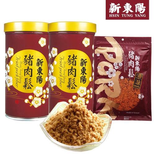 【新東陽】超值豬肉鬆經濟實惠組(2罐+1包)