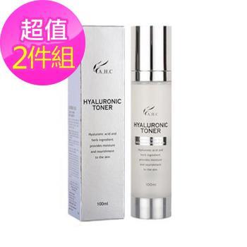 韓國AHC 透明質酸玻尿酸滋潤化妝水(100ml*2)