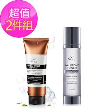 韓國AHC 安瓶玻尿酸精華清潔洗面凝露+玻尿酸保濕化妝水