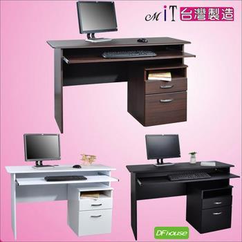 《DFhouse》黑森林電腦桌+活動櫃辦公椅 電腦椅 書桌 茶几 傢俱 床 櫃 書架