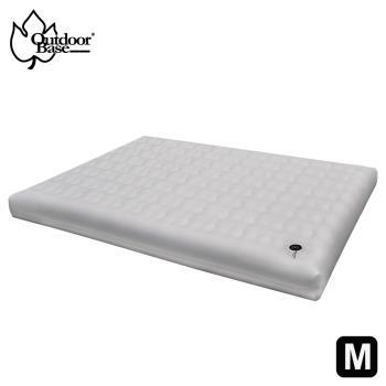 【OutdoorBase】頂級歡樂時光充氣床Comfort PREM.- M號 - (月石灰)-23823-網  充氣床墊 露營 野餐