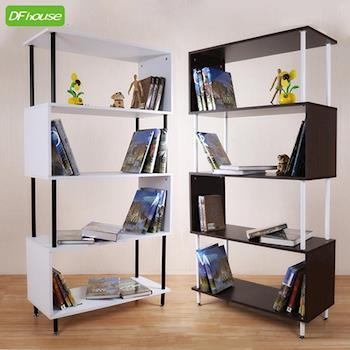 《DFhouse》入秋新品 羅倫斯多功能五層書架*雙色可選* 萬用架 收納櫃 書桌 傢俱 床 櫃 書架