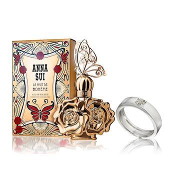 ANNA SUI奢華香氛2件組(香水30ml+真鑽戒指)
