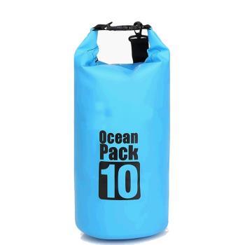 【韓國熱銷】10L戶外超輕量防水袋(四色任選)/盥洗袋/旅行袋/