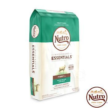 Nutro 美士 全護營養 成犬 狗飼料 (牧場小羊+健康米) 15磅*1包 原顆粒