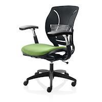 GXG 舒樂 短膠背 電腦椅 (升降扶手) 4+05SF1