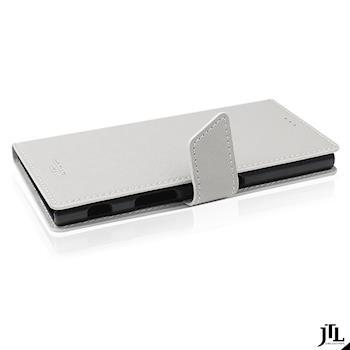 JTL SONY Xperia XZs Saffiano 側掀卡夾式皮套