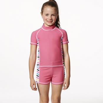 【SARBIS】MIT泡湯SPA女童二件式泳裝