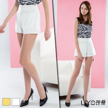 【LIYO理優】褲子雙口袋短褲 621021