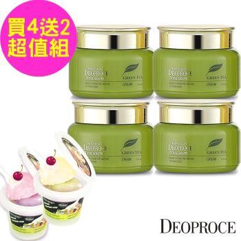 【韓國Deoproce】靚膚彈力保濕精華霜 60ml x4 入(贈冰淇淋潔顏乳霜83gx2)