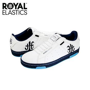 【Royal Elastics】男-Icon Alpha 休閒鞋-白/藍(02072-505)