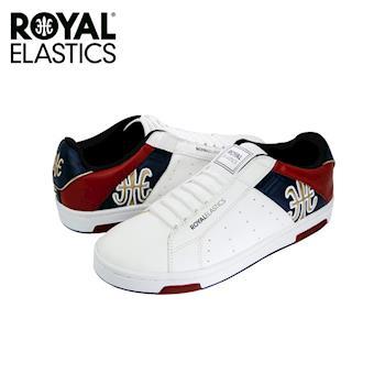 【Royal Elastics】男-Icon Alpha 休閒鞋-白/藍/紅(02072-051)