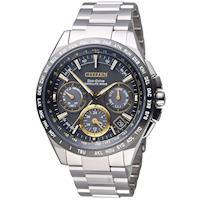 星辰 CITIZEN 光動能 鈦感光衛星計時腕錶 CC9015-54F