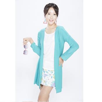 RURU 韓版抗曬舒涼針織外套+背心套裝組