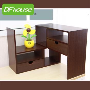 《DFhouse》普魯夏伸縮書架 萬用架 收納櫃 書桌 茶几 鞋架 傢俱 床 櫃 書架 轉角架