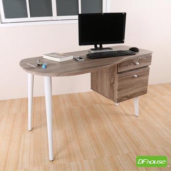 《DFhouse》新品上架 羅浮宮4尺多功能浮雕工作桌*立體浮雕PVC桌面* 辦公桌 工作桌 MDF熱壓