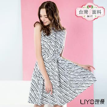 【LIYO理優】洋裝立領襯衫式洋裝626022