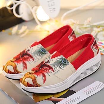 Alice 氣流式塗鴉設計健走鞋(預購)